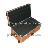 Functional portable high quality Aluminum tool case flight case trolley case