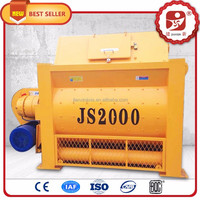 Large capacity concrete mixing machine, biaxial concret mixer