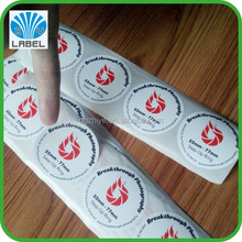 Direct Manufacture Best Sales Waterproof Custom Candle Stickers