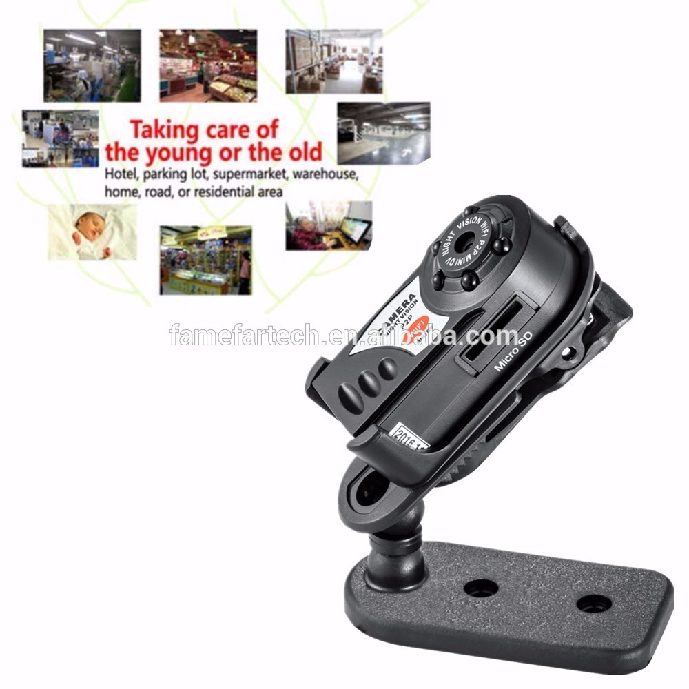 Q7 Mini Wifi DVR 720P Wireless IP Camcorder Video Recorder Camera Infrared Night Vision wifi camera mini camera
