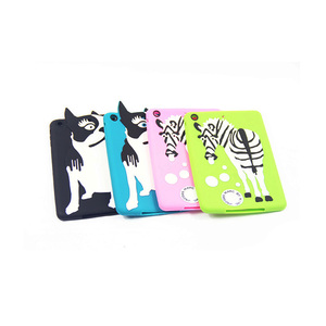 PC silicone case for ipad soft rubber bumper for ipad