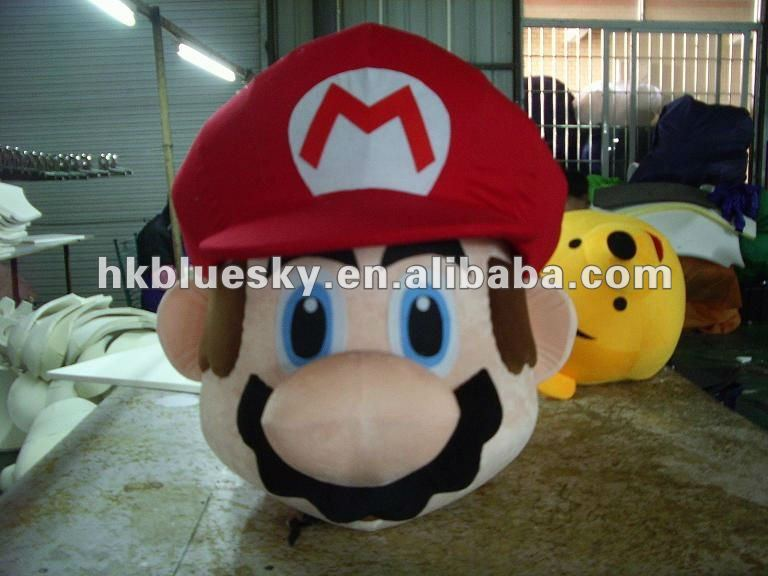 High quality customized head for mascot costume