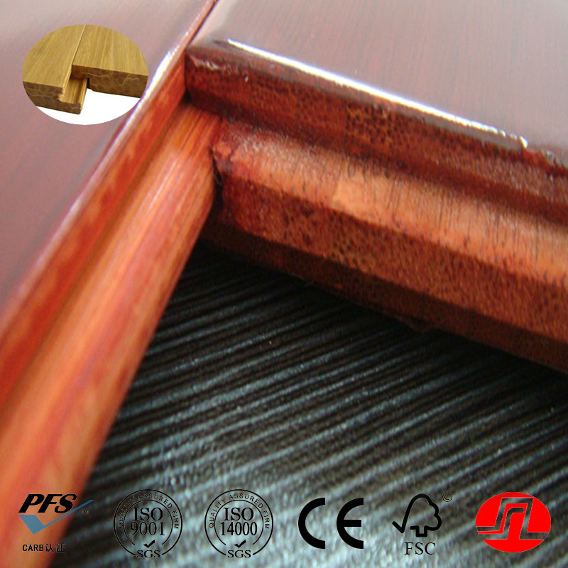 Various Kinds of Beautiful Strand Woven Bamboo Flooring Red Sandal Flooring