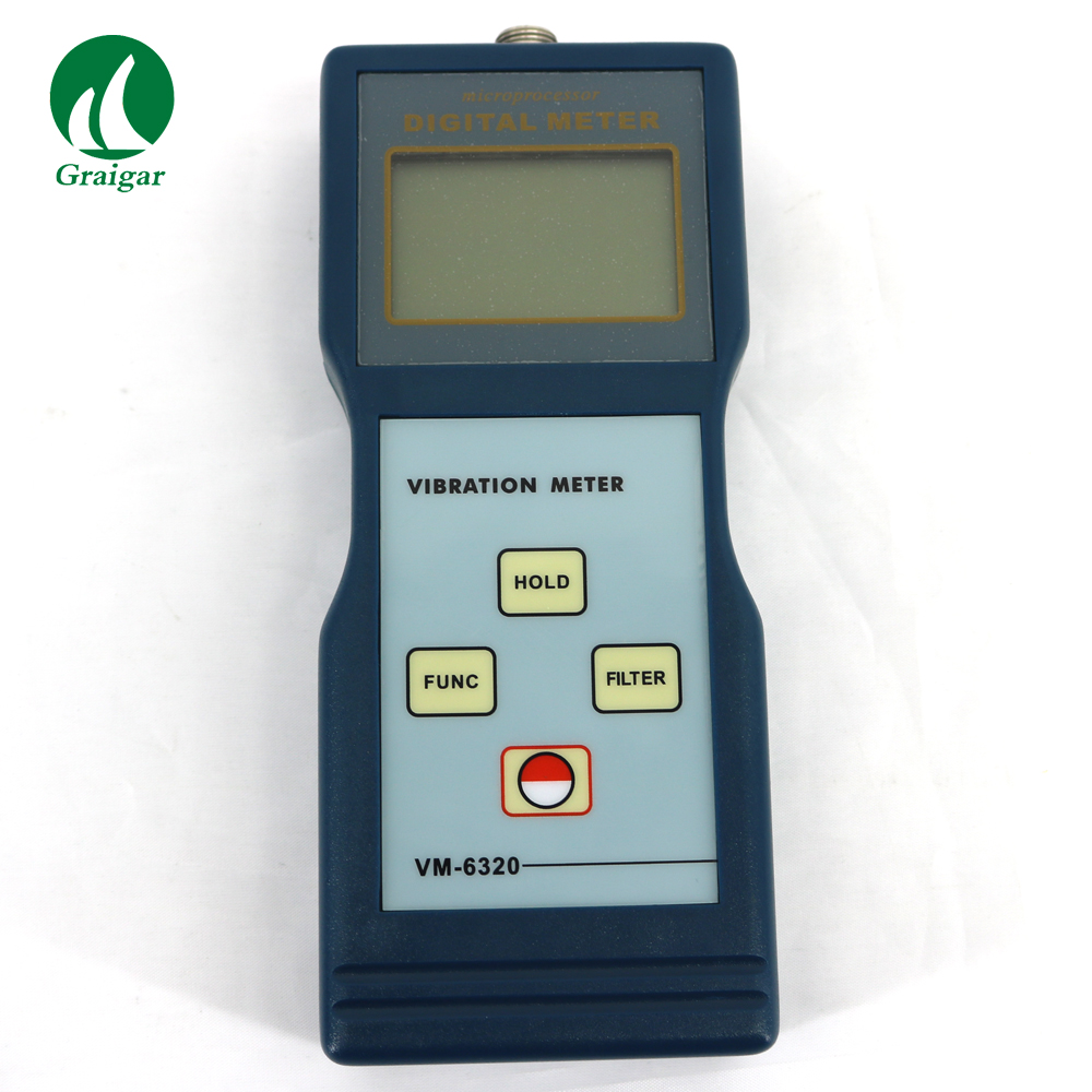 VM-6320 Hight Accuracy Vibration Meter Tester NDT Instruments VM6320 (1 to 10KHz) / p-p 0.1-200mm / s0