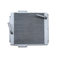Newest cheap Bar plate type tractor radiator