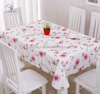 clear pvc table cover