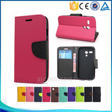 Mobile phone accessory pu magnetic leather flip cover for Lenovo Vibe shot Z90 case