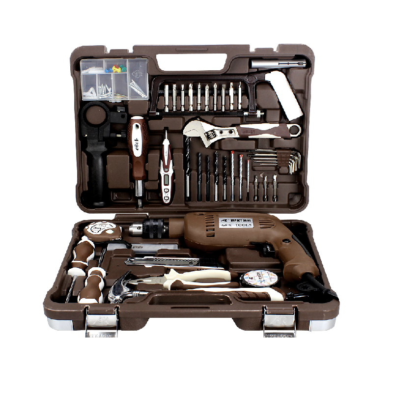 82pcs Electric Tool Box Set Power Drill Hand Tool <strong>Kit</strong>