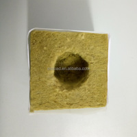 Greenhouse Hydroponic Agriculture Mineral Wool Cubes Insulation Price Mineral Wool for Planting