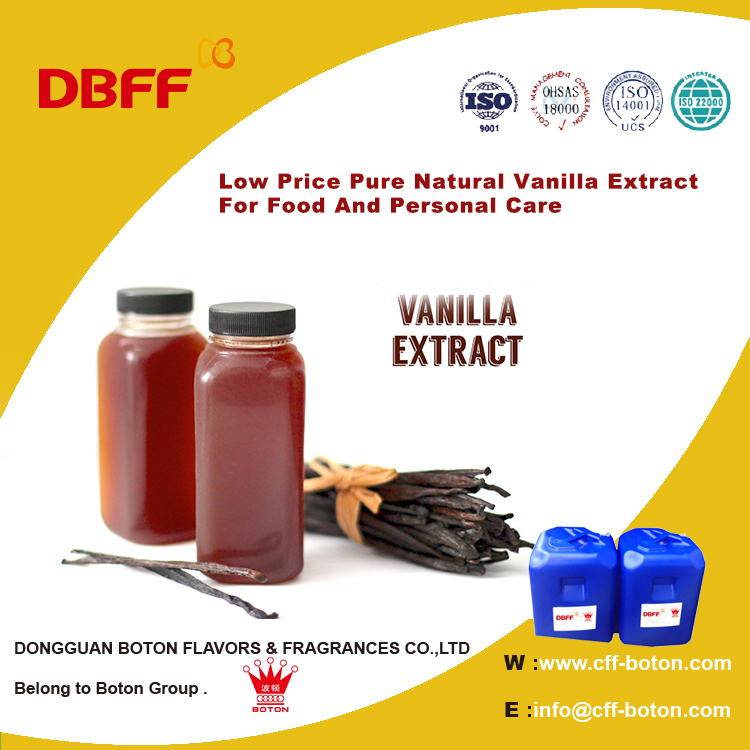 Low Price Pure Natural Vanilla Extract For Food And Personal Care
