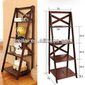 ladder design Industrial bookshelf furniture