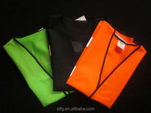 New design high visibility security warning reflective vest,reflective safety clothing for cycling/motorcycle/running/mine