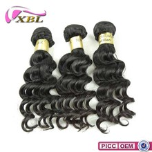 XBL hair bundle Sew In Remy Human Hair Grade 8A Hair Extension