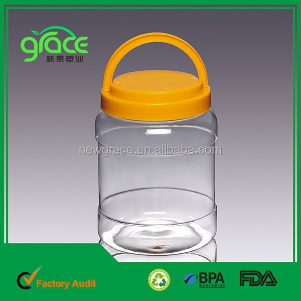 A2 2 litre round plastic pet jar plastic bottle <strong>manufacturing</strong>
