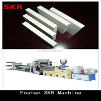 China Machinery Production Line for PE Free Foam Plates Plastic Board Profile Extrusion making machine