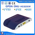 ftth gpon 1fxs+ 2ge onu ont fiber optical network router
