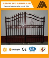 Widely used for Home and Garden decorations wrought iron gate AJ-GATE001