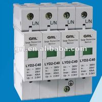 Grade C type autoprotected low voltage Surge arresters