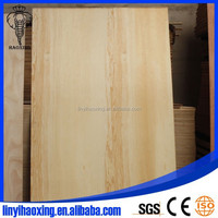 Different types of plywood