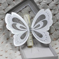 Hot Sale Luxury Butterfly Wedding Invitation Card Stock