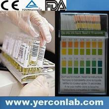 pH saliva&urine test strips FDA CE ISO