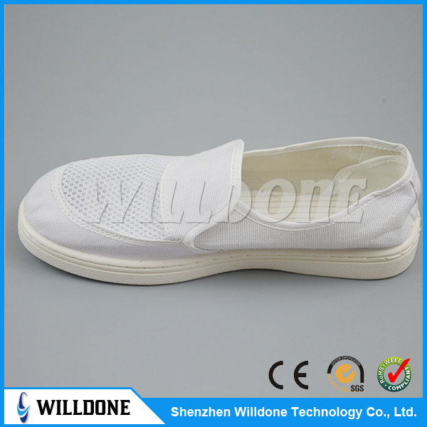 China cleanroom esd pvc sole antistatic shoes