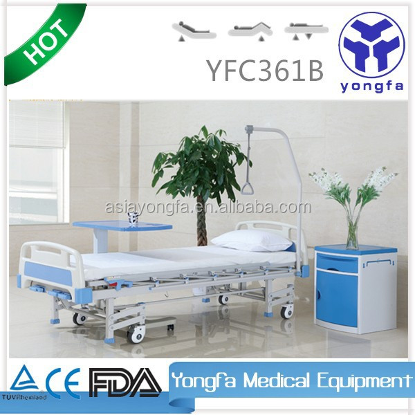 YFC361B Three Function Manual adjustable bed frame A15