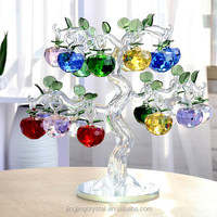 Hot Selling Crystal Apple Tree Christmas Decorations