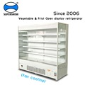 Supermarket Open Display Commercial Vegetable Refrigerator