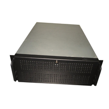 OEM 4U free nas storage black color Hot Swap Rack Mount Server computer cases ATX
