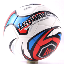 Lenwave brand soccer promotional wholesale football custom pu leather soccer ball