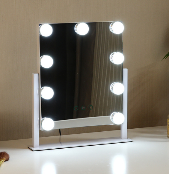 Large Hollywood Makeup Vanity Mirror with  Bulbs light makeup light makeup dressing mirror