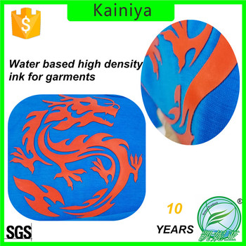 KAINIYA water based thicker effect ink for garments