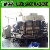 Used pvc dip canvas shoes machine one colour ( ZH brand )