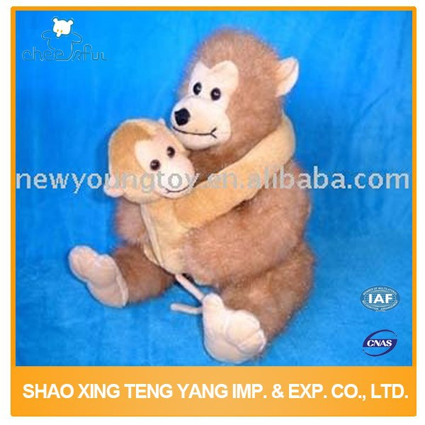 Kids toys supplier ISO9001 certified Kid soft toy monkey