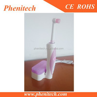 Mini recharging toothbrush with Replacement brush heads