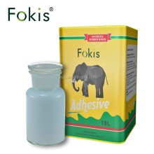 Fokis best super soft pvc rubber adhesive waterproof glue for plastic
