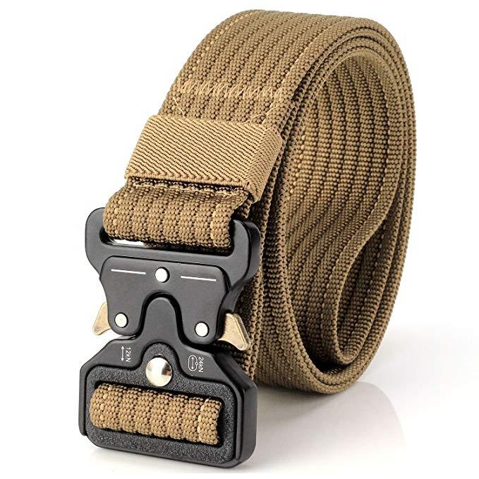 Rigger Belt Black Webbing Tactical SWAT Police Security Military