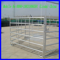 galvanized corral fence panels ( factory & exporter )