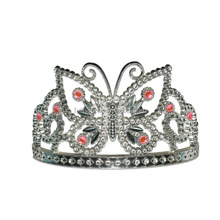 korean butterfly tiaras and crowns for kids pageant