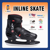 2015 Hot Selling ICE Speed Skates, High Quality Size Adjustable Racing ICE Skates