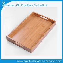 Custom high quality Japanese style bamboo tea coffee serving tray