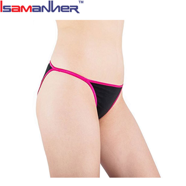 OEM design lingerie mature lady women sexy micro g string
