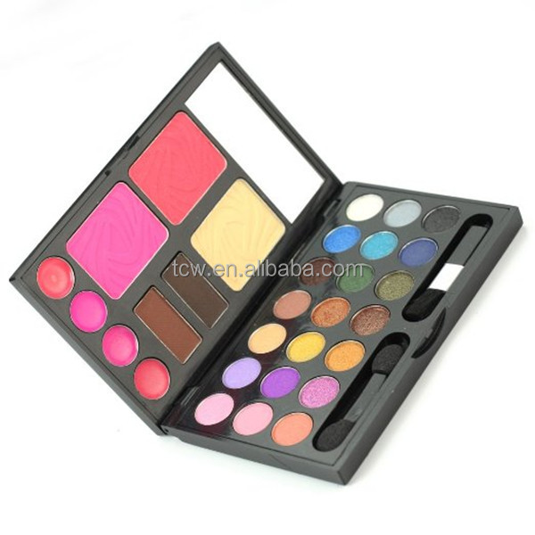Your Own Brand Private Label Mineral Natural Contour Cosmetics Eye Makeup Eyeshadow Contour palette
