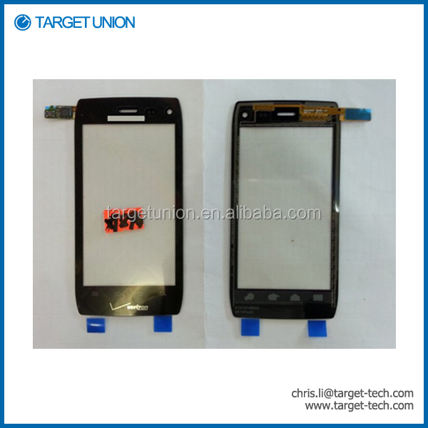 original new touch screen digitizer For Motorola xt894 Parts Replacement
