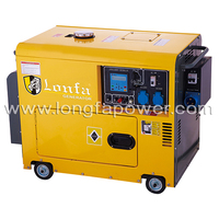 5KVA/6KVA/7KVA/8KVA Kipor Model Small Silent Air Cooled Diesel Generator