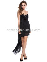 Elegant Cocktail Black New Soft Bling Bling Cocktail Dress