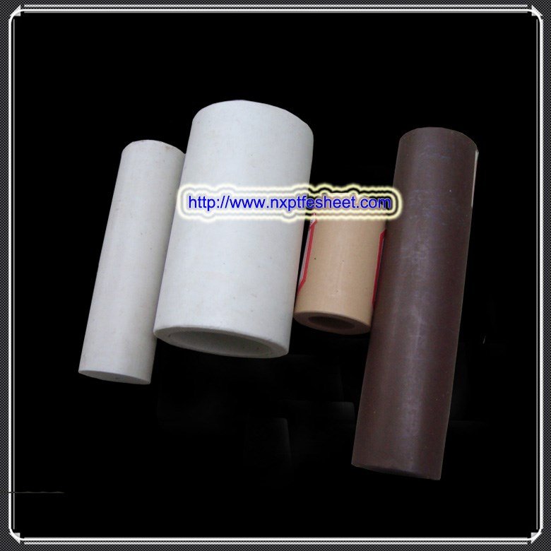 Glass/bronze/polyimide filled ptfe products