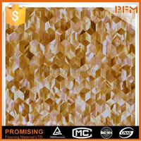 fashionable life chip china mother of pearl river shell mosaic wall tile manufacturer