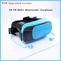 wholesale alibaba trending hot products virtual reality vr box headset bluetooth vr box with earphone for iphone